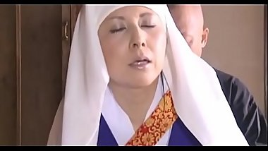 Asian japanese female monk practice - Pt.2 On HdMilfCam.com