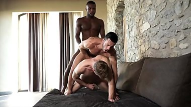 Interracial Roommates Anal