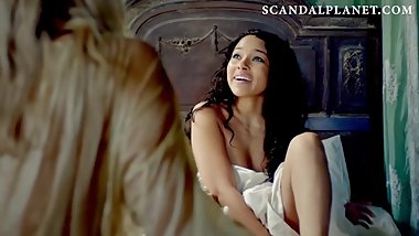 Jessica Parker Kennedy Nude Bush in 'Black Sails' On ScandalPlanet.Com