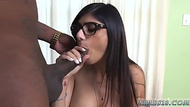 Emo Tattooed Teen Dancing Mia Khalifa Tries A Big Black Dick