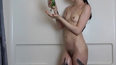 Sexy Naked Shower Tease To Get Clean For Daddy