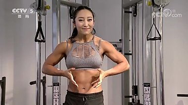 Chinese FBB showing off her stunning body