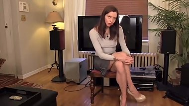 Sexy Badass Strict Mother GIVES JOI