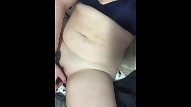 Sexy girlfriend masturbating for me