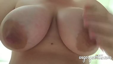 Big nipples drained