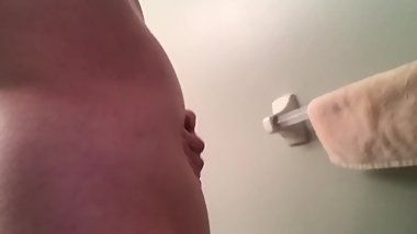 Shower enema bloat