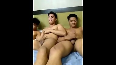 3some with friends