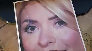 Holly Willoughby Cum tribute 12