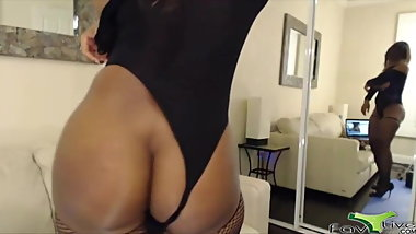 Addicted to cum adorable busty booty black Nyla Storm