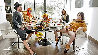 FamilyStrokes - Kinky Family Thanksgiving Orgy
