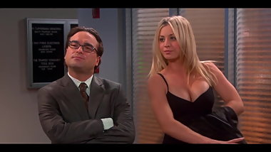Kaley Cuoco Big Cleavage TBBT S06E20 (2013)