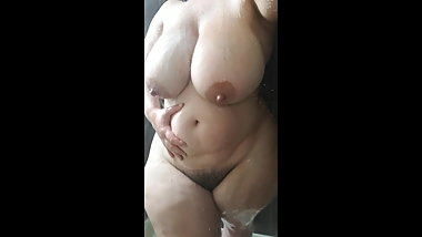 Shower MILF wife2