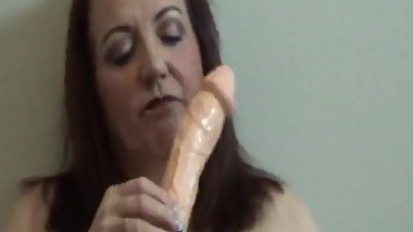 Slut Ann fucks herself yet again!