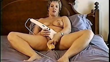Slut Ann still fucking herself