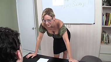 Teacher Masturbates You