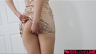 Step bro testing out Chloe Cherry'_s anal one last time!