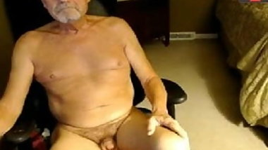 grandpa naked in chat room