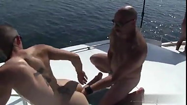 Let's go for sailing to have fuck with daddies!
