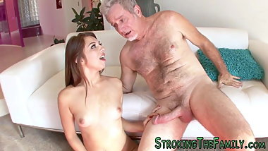 Teenager rides stepdaddy