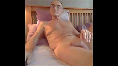 grandpa in bed