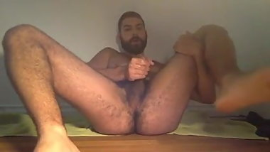 Arab Lebanese Spreads His Legs And Shoots His Load