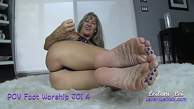 POV Foot Worship JOI 4 TRAILER