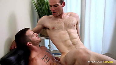 Hairy Muscle Daddy Analized Younger Tattoed  Hunk