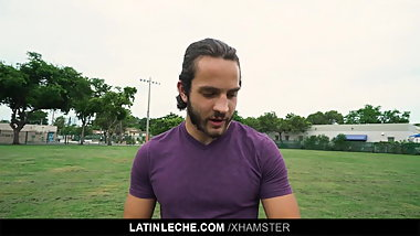 LatinLeche - Straight Soccer Stud Gay For Pay