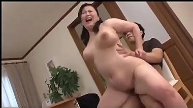 Jav big boobs daughter in law satisfied sex