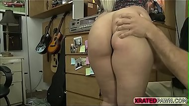 Tiffany Rain gets banged in the office
