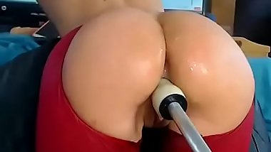 Hot Big Booty CamGirl takes Fucking machine anal and vaginal more on realwhores.tk