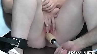 Top notch amateur bondage scenes with young angel