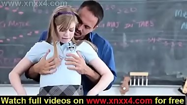 School girl fucking in class by her teacher-Www.Xnxx4.com