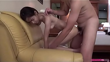 The last is creampie with doggystyle