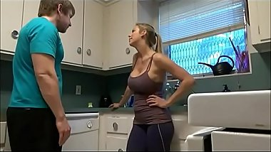 Hot Stepmom Fucks Stepson
