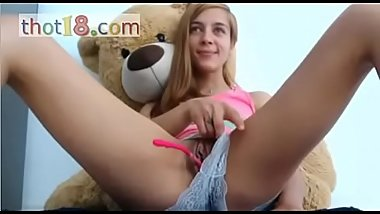 CUTE BLONDE AND DADDY BEAR