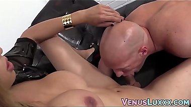Tranny Asian hammers a homos ass until he unleashes cum