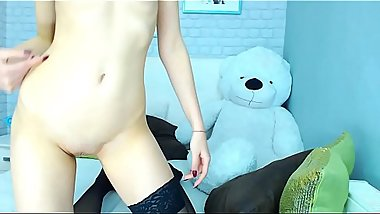 18 College Girls POV LaLaCams.com Gorgeous Teen Cam Model Moaning Small