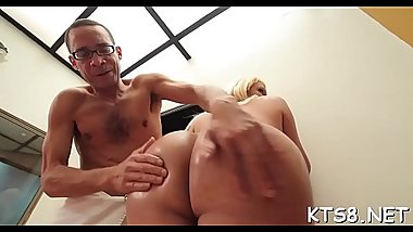 Tranny bitch gets excited of getting big peckers in ass