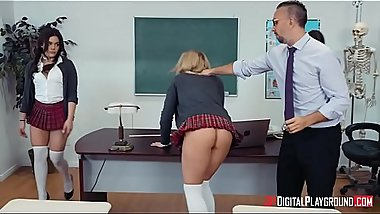 Sir Keiran'_s School of Anal Training Part 3 - Kimber Woods, Kristen Scott &amp_ Zoey Monroe - FULL SCENE on http://bit.ly/SexClip
