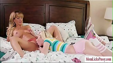 MILF Cherie scissor sex with babe Chloe