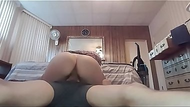 slutty college girl blowjob and creampie- meet girls at the link in the description