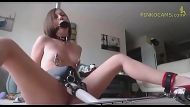Extreme Non-stop Helpless Daughter Orgasm