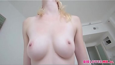 Blonde StepSister Fauxcest POV With StepBrother