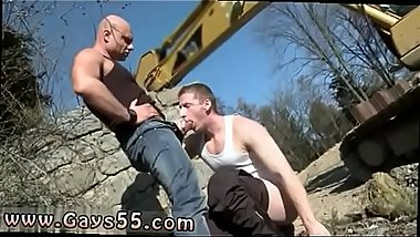 Emo twink gay sex outdoors Men At Anal Work!