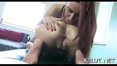 Adorable milf face sitting her massive butt on pliant stud