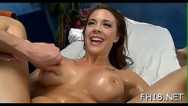 Teen beauty shows her love for dick of her ally