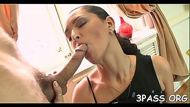 Hardcore scene with cutie getting tight butthole banged