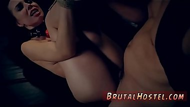 Slave brutal gangbang and bondage anal orgasm Best buddies Aidra Fox