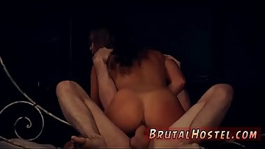Brutal anal fisting and couple dominate bondage threesome Fed up with